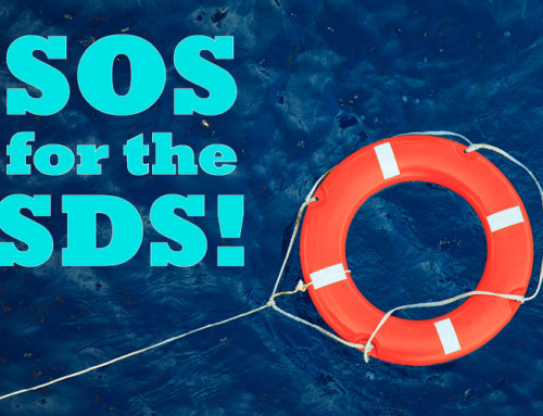 SOS for the SDS!