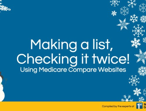 Infographic: Making a List and Checking it Twice! Using Medicare Compare Websites