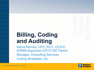 Billing, Coding, and Auditing Cover image