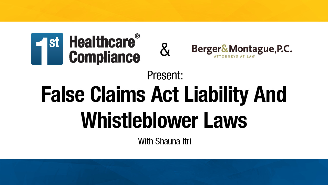 the false claims act Under the false claims act, citizens can sue on behalf of the government and share in any recovery in this case, shackleford and mills will receive a 20% share of the recovery.