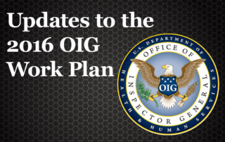 2016 OIG Work Plan