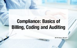 Medical Coding Basics - How to Audit Medical Billing and Coding