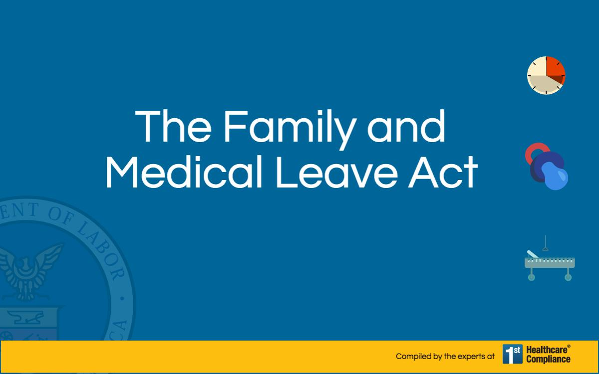 analysis of the family and medical leave act fmla State and national labor laws and human resources management compliance tools about leave of absence (fmla) explained a leave of absence of between 12 and 26 weeks must be given to qualifying employees under the federal family and medical leave act (fmla) read the complete analysis.