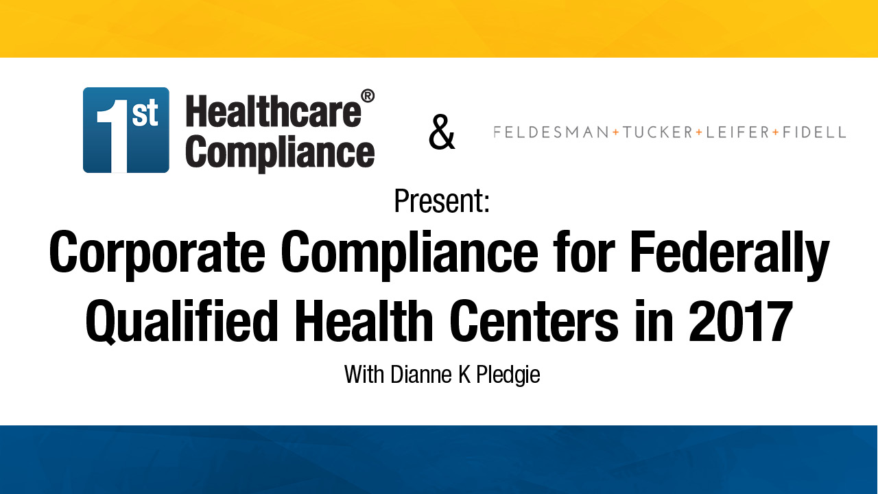 Free online hipaa osha hitech false claims act anti kickback corporate compliance for federally qualified health centers in 2017 1betcityfo Choice Image