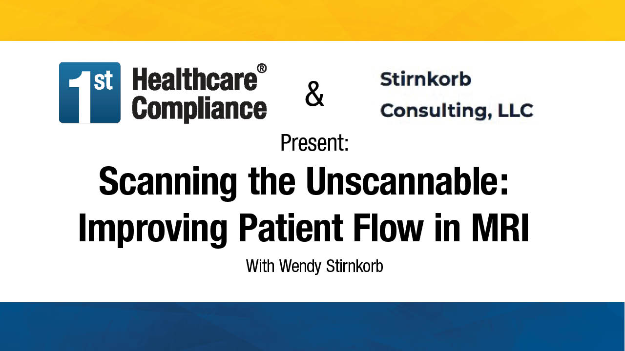 Scanning the Unscannable Improving Patient Flow in MRI