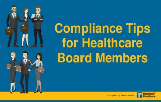 Compliance Tips for Healthcare Board Members