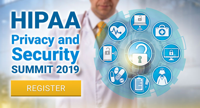HIPAA Privacy and Security Summit 2019 on November 14