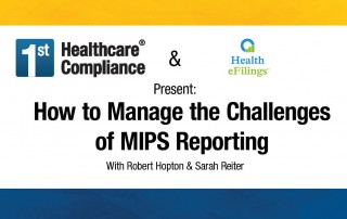 How to Manage the Challenges of MIPS Reporting