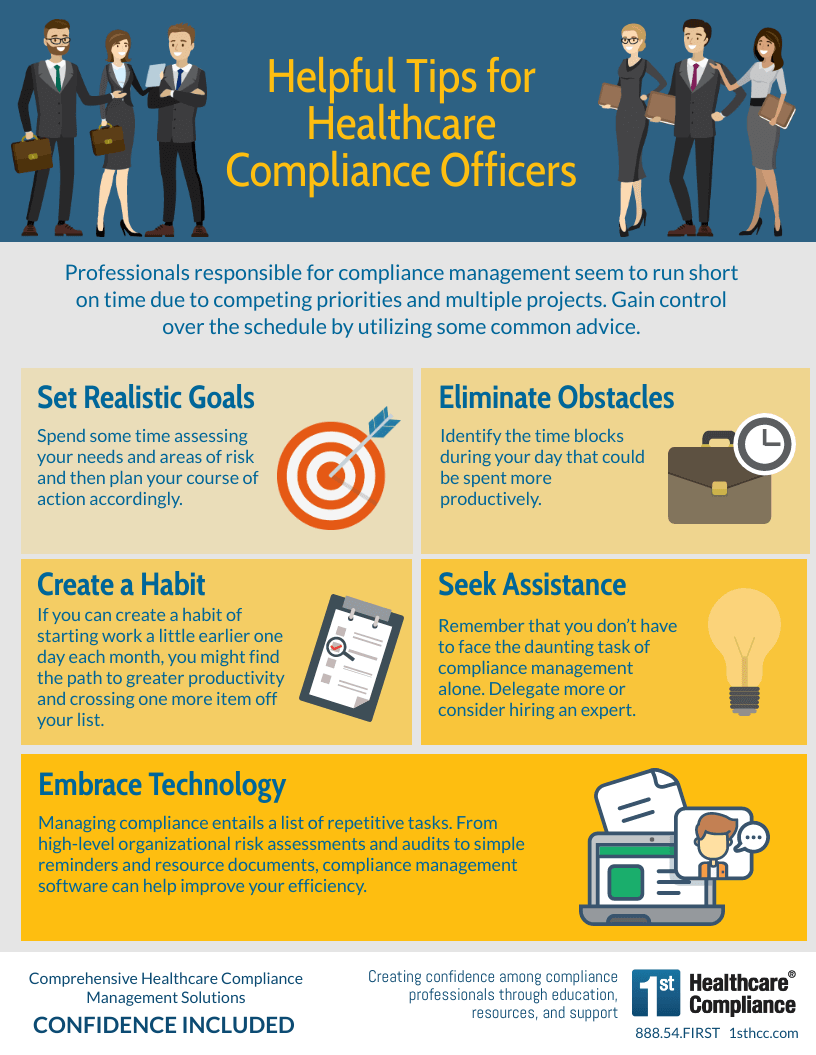 Infographic: Helpful Tips for Healthcare Compliance Officers