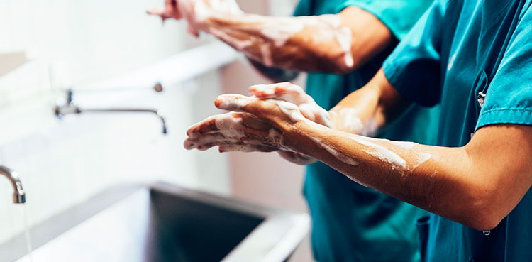 Combat COVID 19 in the Healthcare Setting with Hand Hygiene